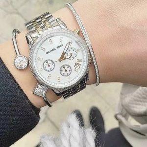 NIB Michael Kors Ritz Two Tone Women's Watch